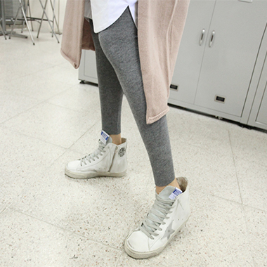 버스킹 knit leggings