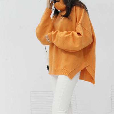 애쉬 pola knit (orange)